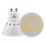 Недорогие -ywxlight® 5w gu10 gu5.3 e26 / e27 mr16 светодиодный прожектор 54smd 2835 400-500lm теплый белый холодный белый натуральный белый ac110v / 220v