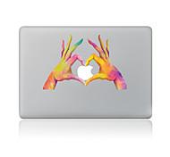 Недорогие -1 ед. Защита от царапин 3D Прозрачный пластик Стикер для корпуса Узор ДляMacBook Pro 15'' with Retina MacBook Pro 15 '' MacBook Pro 13''