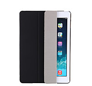cheap -For Case Cover with Stand Auto Sleep / Wake Flip Translucent Origami Full Body Case Solid Color Hard PU Leather for Apple iPad pro 10.5