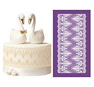 New Design Princess Mesh Stencils for Wedding Cake Lace Moulds Decorating Tools DIY Baking Accessories Dining Bakeware MST-54