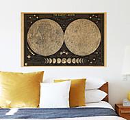 Винтаж Наклейки Простые наклейки Декоративные наклейки на стены,Бумага материал Украшение дома Наклейка на стену