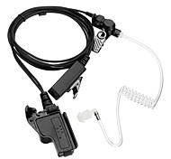 Высококачественный прозрачный воздушный трубчатый пружинный наушник для наушников радиационный микрофон для motorola ht1000 mt2000 mts2000