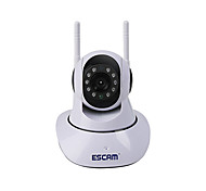cheap -ESCAM® G02 1.0 MP PT Indoor IP Camera Day Night Motion Detection Dual Stream IR-cut Support 128G TF Dual Antenna