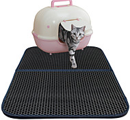 Cat Bed Pet Mats & Pads Solid Waterproof Double-Sided Breathable Foldable Black For Pets