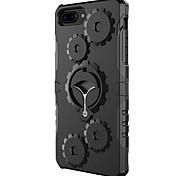 Недорогие -Для яблока iphone 7 7 плюс 6s 6 плюс чехол чехол шестеренный броня pc phone case