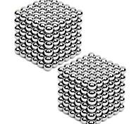 Недорогие -Магнитные игрушки Кубики-головоломки 3D пазлы Товар для фокусов Неодимовый магнит Обучающая игрушка Устройства для снятия стресса 2*216pcs