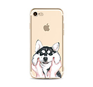Für transparente Muster Fall Hund weichen tpu für Apfel iphone 7 plus 7 iphone 6 plus 6 iphone 5 5c se iphone 4