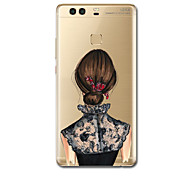 For Ultra Thin Pattern Case Back Cover Case Sexy Lady Soft TPU for Huawei P10 Plus  P9 P9 Lite  P9 Plus