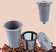 Недорогие -пластик Металл Фильтр для кофе Многоразового использования , 8.8*6.4*6.4