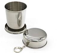 Недорогие -Стаканы, 240 ml Складной Нержавеющая сталь Кофе Пиво Каждодневные чашки / стаканы Бокал