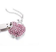 Сверкающий кристалл браслет шарм USB Flash Drive флэш-диск 32gb