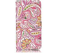 Per iphone 7 plus 7 modello di mandala modello di verniciatura in rilievo pu case in pelle cassa del telefono 6s più 6s 6 5s se 5