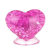 cheap -3D Puzzles Crystal Puzzles Roses Heart Fun Plastic Classic Kid's Unisex Gift