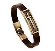 cheap -Leather Bracelet - Leather Friends Vintage Bracelet Brown For Anniversary / Gift / Valentine