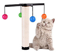 Cat Toy Pet Toys Interactive Scratch Pad Durable Plastic Sisal For Pets