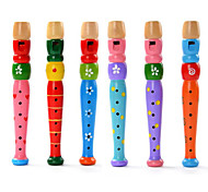 cheap -Educational Toy Cylindrical Wood Toy Musical Instrument Kid's Unisex Gift