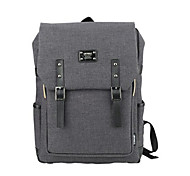 cheap -15.6 inch Ultra-Light Portable Computer Backpack Korean Style Shoulder Bag Waterproof Pure Color Unisex