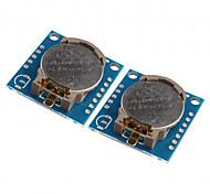 cheap -2PCS Tiny DS1307 I2C RTC DS1307 24C32 Real Time Clock Module