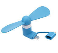 cheap -Two-in-One Feature Mobile Phone Dedicated Mini Fan Adapted To Apple Phone And Android Phone