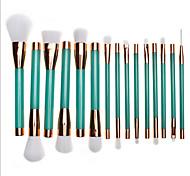 Недорогие -1 комплектНаборы кистей Кисть для румян Кисть для теней Кисть для помады Кисть для бровей Щетка для ресниц (круглая) Ресницы кисти Кисть