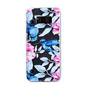 For Samsung Galaxy S8 Plus S8 Case Cover Kingfisher Pattern Drop Glue Varnish High Quality TPU Material Phone Case S7 Edge S7 S5