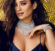 Newest Big Vintage Rhinestone Choker Necklace for Women Luxury Crystal Gem Collar Choker Boho 90s Chocker Collier  Turkish Bikini Euramerican Handmade
