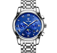Tevise Мужской Для пары Спортивные часы Часы со скелетом Модные часы Механические часы С автоподзаводомКалендарь Защита от влаги