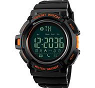 SKMEI Муж. Для мужчин Спортивные часы Армейские часы Модные часы Наручные часы электронные часы Японский Цифровой LED Пульт управления