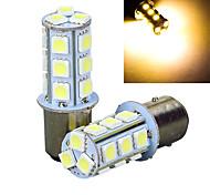 abordables -2pcs 1157 Coche Bombillas W SMD 5050 195lm lm LED Luz de la cola ForUniversal