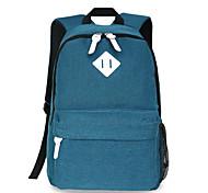 18-дюймовый компьютер рюкзак корейский стиль плеча сумку водонепроницаемый чистый цвет унисекс
