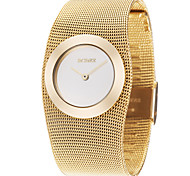 cheap -Women's Graceful Gold Steel Band Strap Watch Quartz Wrist Watch Cool Watches Unique Watches