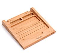 Treppiede supporto tablet di legno Gomma Utensili innovativi da cucina titolare tablet