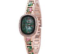 Women's Fashion Watch Wrist watch Casual Watch Quartz Alloy Band Charm Unique Creative Luxury Elegant Cool Multi-colored Watches
