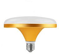 Недорогие -10W 700 lm E27 Круглые LED лампы 24 светодиоды SMD 5730 Тёплый белый Холодный белый AC220