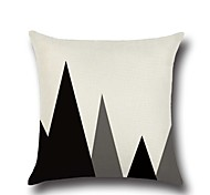 cheap -1 Pcs Simple Triangle Mountain Pattern Pillow Case Creative Pillow Cover 45*45Cm Cushion Cover