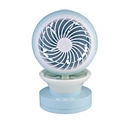 cheap -Water Misting Humidifier Fan With Night Light Spraying cooling Fan Office Desktop Mobile Power Ventilador