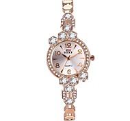 Mulheres Relógio de Moda Único Criativo relógio Relogio digital Bracele Relógio Chinês Quartzo Impermeável Lega BandaVintage Brilhante