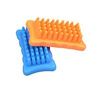 Dog Grooming Health Care Brush Waterproof Orange Blue