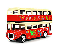 Toy Cars Toys Bus Toys Bus Metal Alloy Pieces Unisex Gift