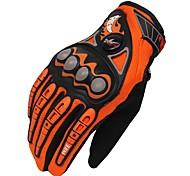 Недорогие -Спортивные перчатки Универсальные Перчатки для велосипедистов Велоперчатки Дышащий Защитный Полный палец Ткань Перчатки для велосипедистов