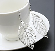 Drop Earrings Jewelry Basic Dangling Style Pendant Leaf Earring Friendship Euramerican Fashion Vintage Personalized Simple Style Rose