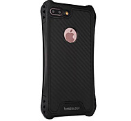 For iPhone 7 7 Plus 6S 6 Plus Case Cover Warlords Carbon Fiber Lines Four Corners Drop TPU Acrylic Combo Quality Armor Phone Case