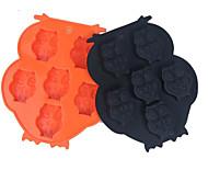 1 шт. выпечке Mold Мультфильм образный конфеты Для получения льда Для шоколада силиконовый Новый год