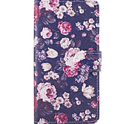 For Samsung Galaxy A3(2017) A5(2017) Case Cover The Flowers Pattern PU Leather Cases for A5(2016) A3(2016) A5 A3