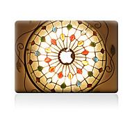 Недорогие -1 ед. Защита от царапин Носки детские Прозрачный пластик Стикер для корпуса Узор ДляMacBook Pro 15'' with Retina MacBook Pro 15 ''