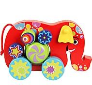 Недорогие -Игрушечные машинки Игрушки Автомобиль деревянный Детские Куски