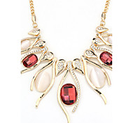 Women's Statement Necklaces Jewelry Heart Jewelry Crystal Alloy Unique Design Fashion Euramerican Jewelry For Party Other Evening Party