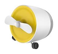 Mini bluetooth аудио зарядка небольшой вентилятор портативный