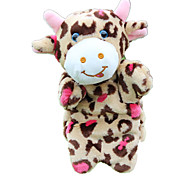 cheap -Finger Puppets Puppets Toys Cow Cute Animals Lovely Plush Fabric Plush Children's Pieces