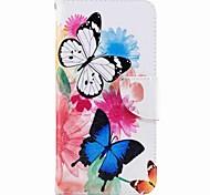 Per huawei p10 plus p10 lite portafoglio portacartelli con custodia per bancale flip case cassa pieno corpo farfalla hard pu leather